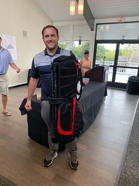 Golf Bag winner!