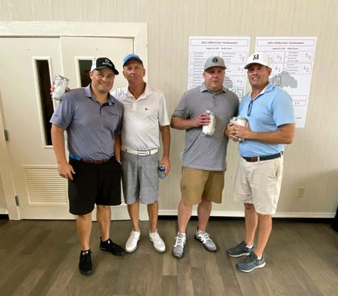 One of our Foursome Team winners.