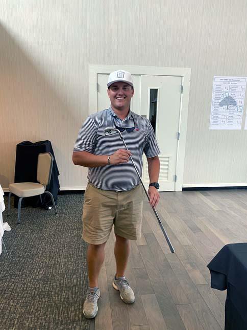 Golf Club Winner, Tyler Turner