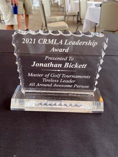 Huge Thaks to our Golf Tournament Organizer, Jonathan Bickett!